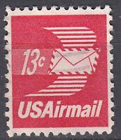 USA Briefmarke gestempelt 13c Airmail  / 2219