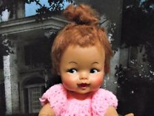 "Vintage Ideal Pebbles Flintstone Doll Hanna Barbera 11 1/2"" So Cute"