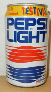 1992 PEPSI Cola Light FESTIVAL can from GERMANY (33cl)