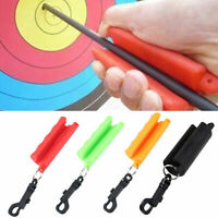 Silicone Keychain Archery Arrow Puller For Target Hunting Bow Shoot Trainning DD