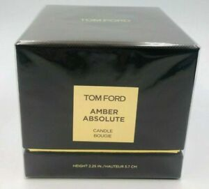 Tom Ford Candle Amber Absolute New Sealed Box 40 Hr Burn Authentic! Guaranteed