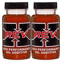 REV-X Stiction Fix Oil Treatment - Two 4 fl. oz. Bottles Great for HPOP Systems