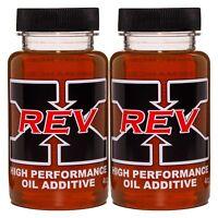 REV-X Stiction Fix Oil Treatment - Two 4 fl. oz. Bottles Great for HPOP Systems
