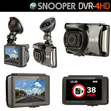 Snooper DVR-4HD Vehicle Dash Witness Camera & GPS Police Speed Cam Detector