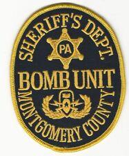 Montgomery County Sheriff Bomb Squad EOD State Pennsylvania PA