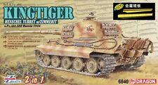 DRAGON 6840 1/35 Kingtiger Henschel Turret w/Zimmerit (Bonus:Armor Plate)