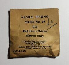 Big Ben CHIME Alarm Spring Model No. 69 - Fits Big Ben Chime Alarm ONLY