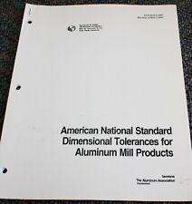 1993 ASME Screw Thread Representation Standards Book Engineering Drawing Design