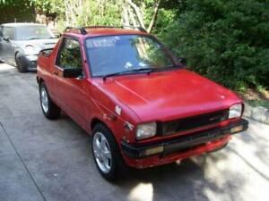 1986 Suzuki Mighty Boy Manual Ute, Intercooled Turbo Converted. $3500