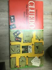 Vintage Cluedo Boardgame - 1972 Complete Great Condition
