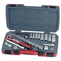 Teng Tools T3839 39pc 3/8 square drive metric socket set TENT3839 *Free postage*