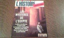 l'histoire n° 190 juillet/aout 1995 special: les mysteres de l'egypte