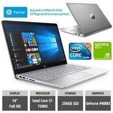 HP Pavilion Pro 14-bf010na Laptop i7-7500U 8G/256GB SSD FHD Gaming GeForce 940MX