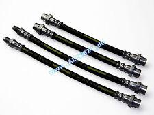 4x Tubo flexible de frenos TRASERO BMW E81 E82 E87 E90 Calidad Taller