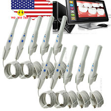 10PCS HK790 Dental 5.0 MP IntraOral Oral Camera Cam 6 LED 105° VIEW +500 Sheaths