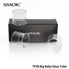 3x Replacement Pyrex Glass Tube for Smok TFV8 Big Baby Beast Tank 5ml / Stick V8