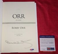 Bobby Orr Boston Bruins HOFer Signed Autograph My Story Book PSA/DNA COA