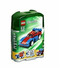 LEGO®  Creator Mini Speeder Car Building Play Set 31000 NEW NIB Retired