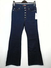 7 FOR ALL MANKIND Slim Illusion LUXE Flare W26 L36 Ladies Blue Denim Jeans