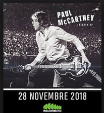 Vends 2 billets en fosse concert McCartney 28 Nov / U Arena Paris