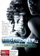 UNDERBELLY NZ THE LAND OF THE LONG GREEN CLOUD DVD, NEW, REGION 4. FREE POST