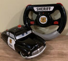 "Disney Store - Pixar - Cars - 6"" Sheriff RC Car w/ Controller - WORKING"
