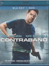 CONTRABAND (Blu-ray/DVD, 2012, 2-Disc Set, Includes Digital Copy) NEW