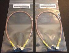 Motorola GR300 GR500 CDR500 CDR700 Duplexer Cables RX & TX RG400 Angle BNC