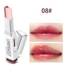 Pro Two Tone Tint Lip Bar Lipstick Moisturizing Gradient Color V-shape Lipstick- 8#