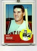 PETE ROSE  CINCINNATI REDS  1962  #578  A ROOKIE CARD REPRINT