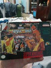 WWF Super Wrestlemania Super Nintendo  Factory Sealed Wwe WWF new never played