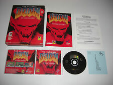 THE ULTIMATE DOOM 1 - THY FLESH CONSUMED Pc Original BIG BOX - Fast Secure Post