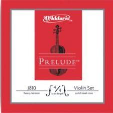 D'ADDARIO J810 prelude violin string set, échelle 4/4, heavy tension