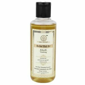 Khadi Ayurvedic Vitalising Hair Oil Natural Product Healthy Hair - 210 ml