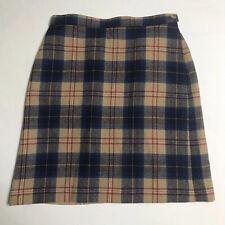 Vintage Pendleton Plaid Skirt Size 6 100% Virgin Wool Authentic Cailean Tartan