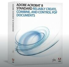 Full version Adobe Acrobat 8 Standard For Windows PC With Serial Number.