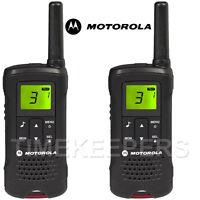 8Km Motorola TLKR T60 Walkie Talkie Two Way PMR 446 Security Leisure Radio Twin