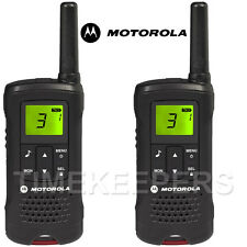 8Km Motorola TLKR T60 Walkie Talkie Two Way PMR 446 Security Leisure Radio Twin