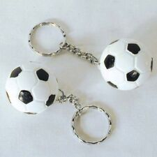 6 Soccer Ball Key Chain sport fan collect team ball Novelty play keychains new