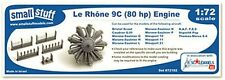Small Stuff Models 1/72 Le Rhône 9C (80 hp) Engine