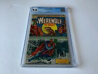 WEREWOLF BY NIGHT 9 CGC 9.0 SEWER COVER MARVEL COMICS 1973