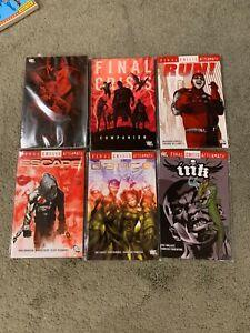 Huge DC Final Crisis tpb lot of Graphic Novels-trade paperbacks tpbs JLA