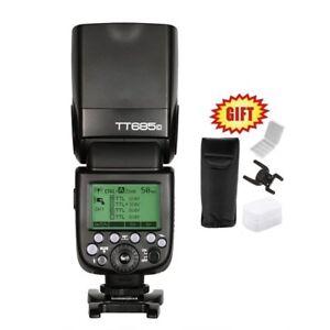 Godox TT685C 1/8000s E-TTL HSS GN60 Wireless Speedlite Flash for Canon + GIFT