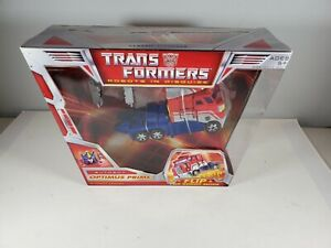 Transformers Classics Voyager Class Optimus Prime Collector Sealed!