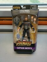 "Marvel Legends 6"" Avengers Infinity Wars Captain America (Thanos BAF) - NEW"