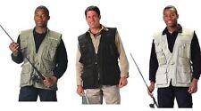 Cotton Blend Solid Regular Size L Vests for Men