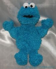 "Retired Gund Plush Beanie Sesame Street 12"" Shaggy Floppy Blue Cookie Monster"