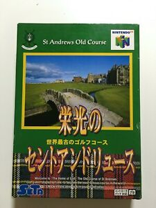 golf eikou no St ANDREWS   Nintendo 64 N64 Japan Japanese