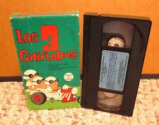 LOS 3 CHIFLADOS Spanish cartoon New Three Stooges VHS animation series 1965