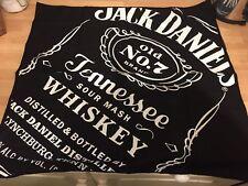 2017 Edition Jack Daniels Old No. 7 Brand Black Bandana Scarf